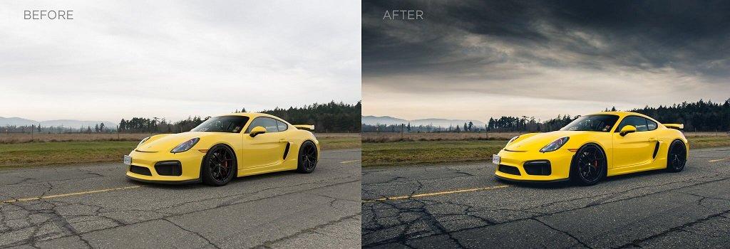 Cómo editar fotos de automóviles en Lightroom