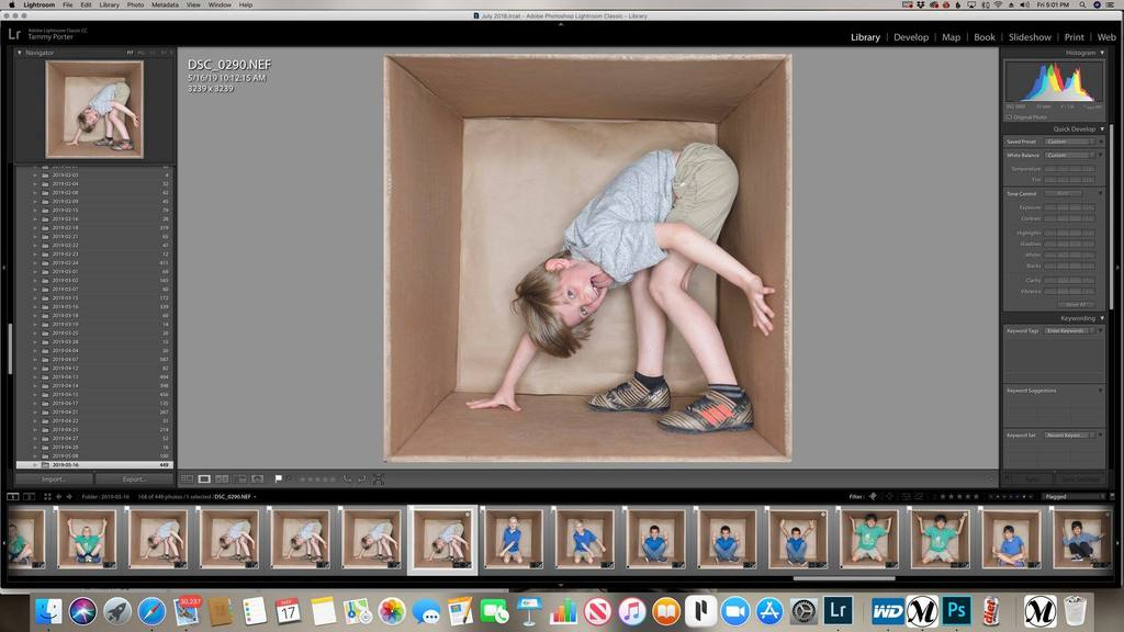 fotografía de caja