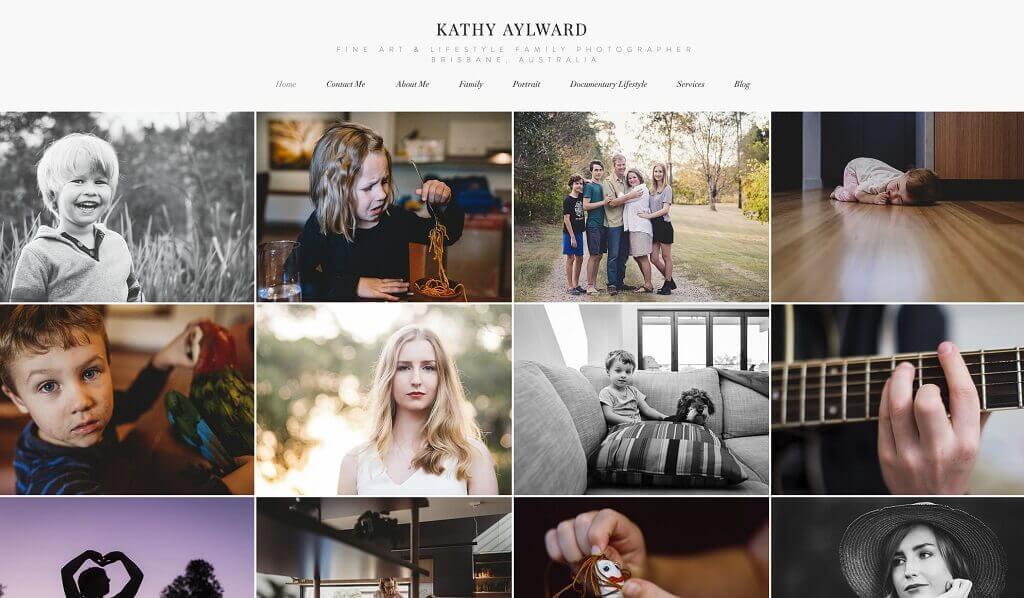 Cómo configurar un sitio web comercial de fotografía