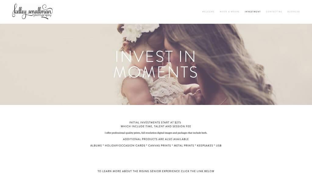 Cómo hacer un sitio web para un negocio de fotografía