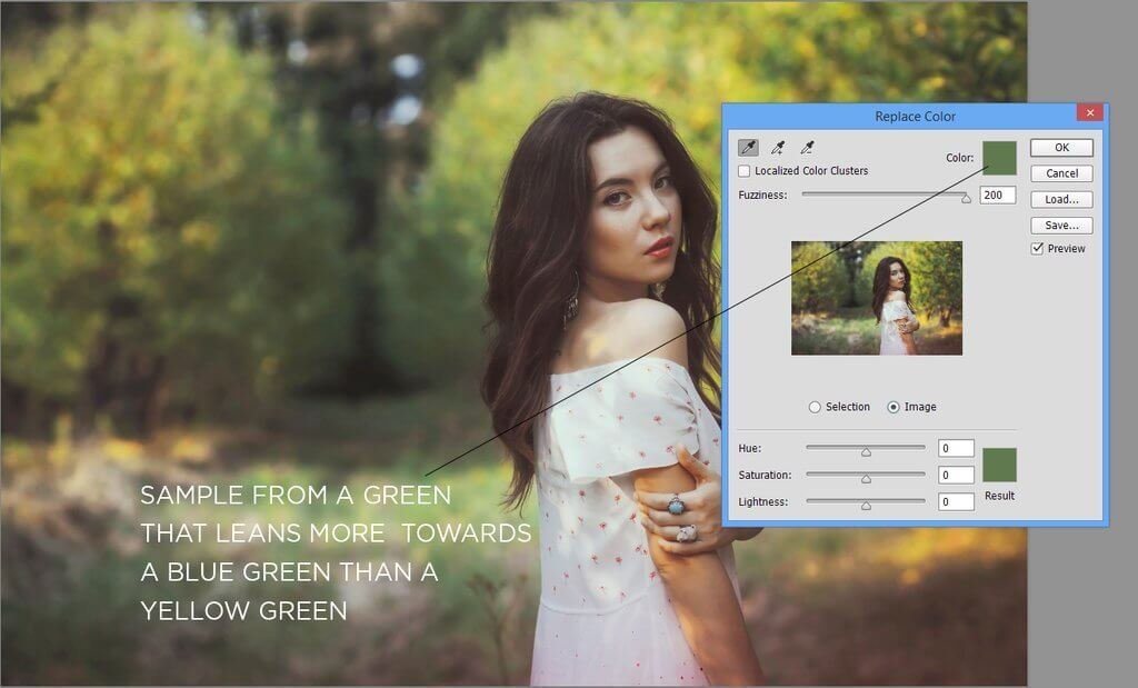cómo cambiar el color de una imagen en photoshop