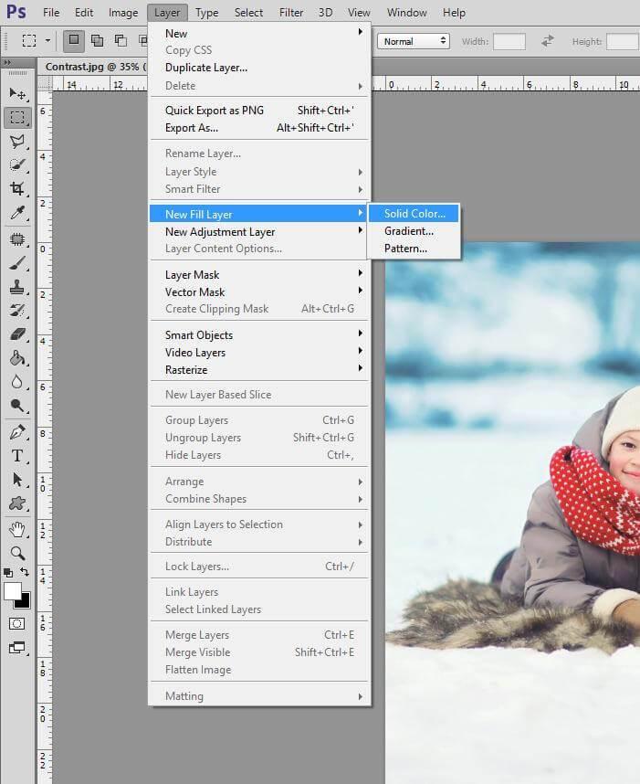 ¿Qué es el brillo y el contraste en Photoshop?