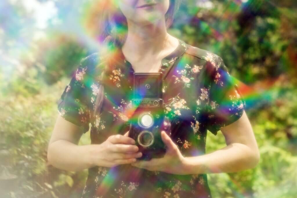 cómo agregar efecto arco iris a las imágenes
