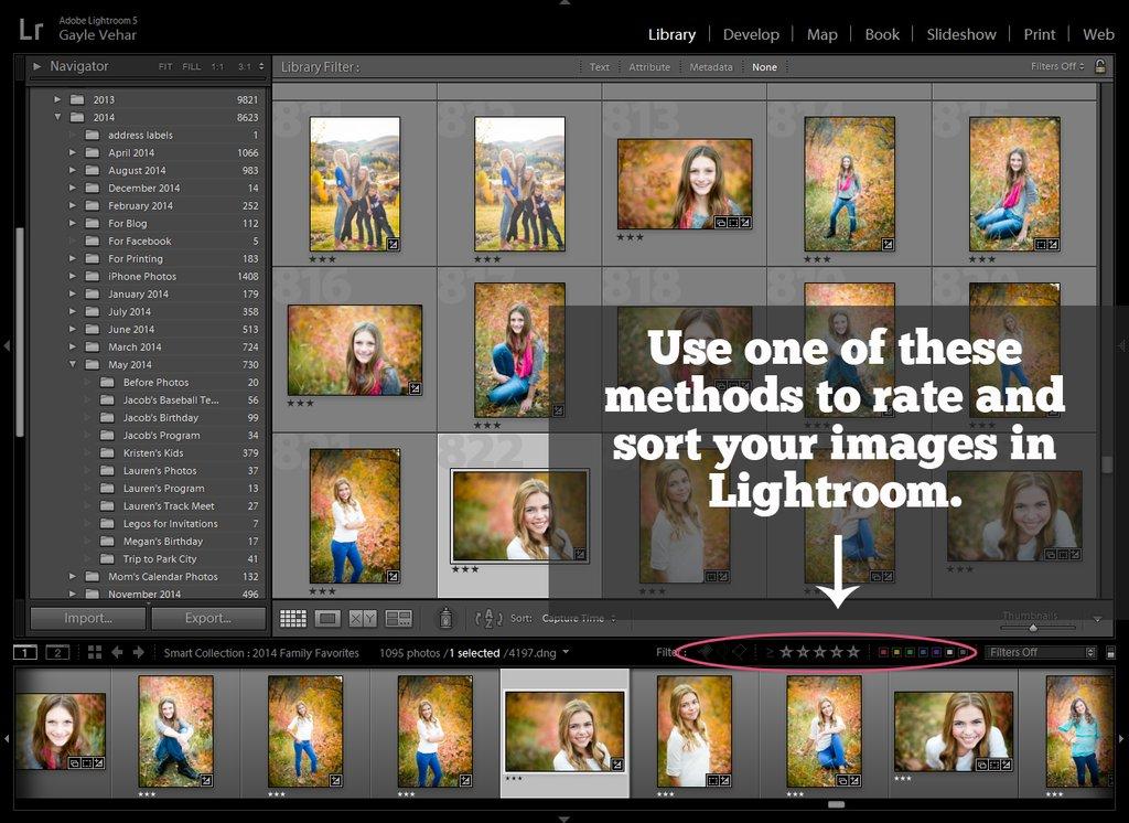 4 sencillos pasos para fotos más organizadas en Lightroom |  Tutorial de Pretty Presets Lightroom