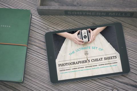 8 hojas de trucos de fotografía + 250 enlaces a recursos fotográficos