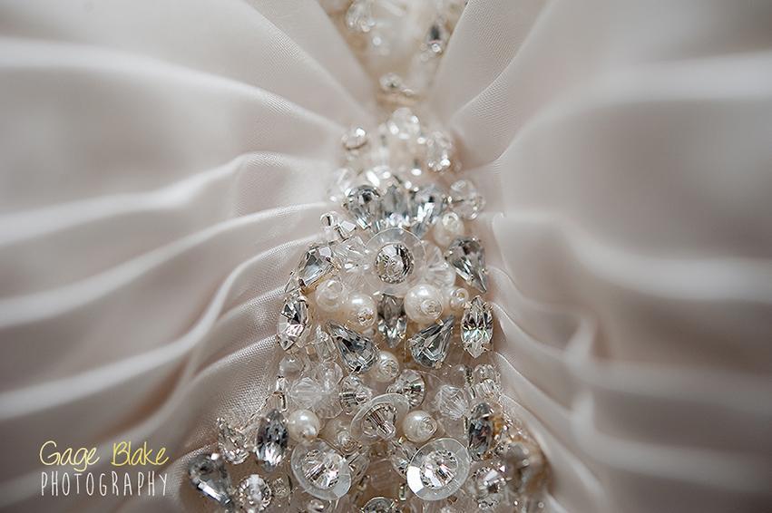Detalle del vestido de novia - fotos importantes de la boda