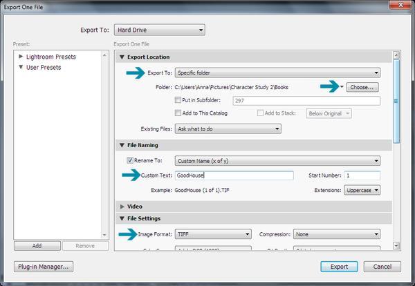 Importación a exportación de Lightroom: control de sus archivos