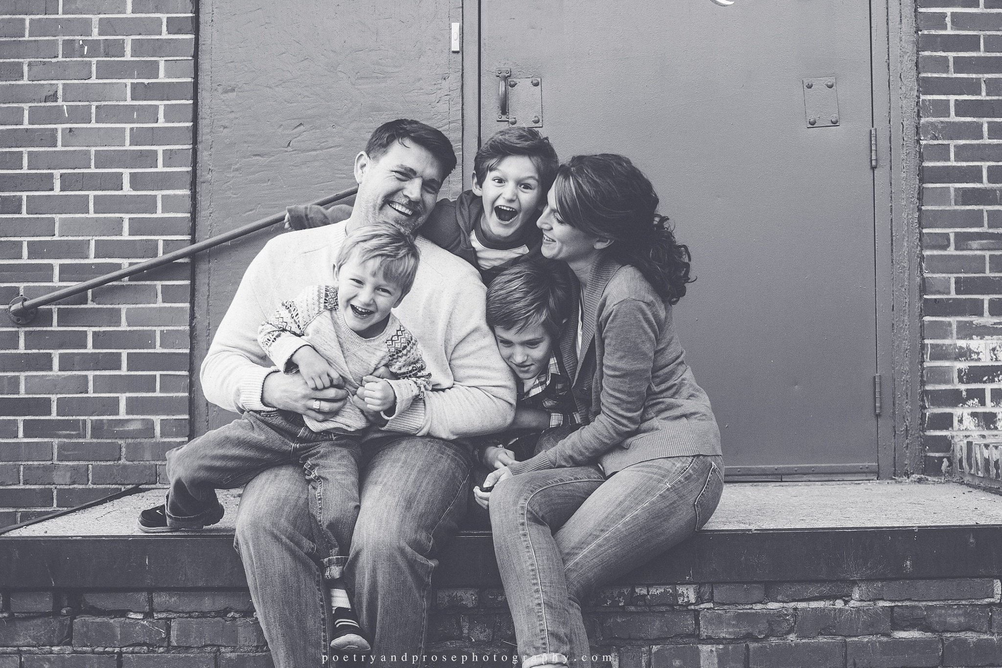 Retrato de la familia de Allison