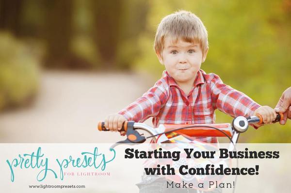 Empiece su negocio de fotografía con confianza: haga un plan