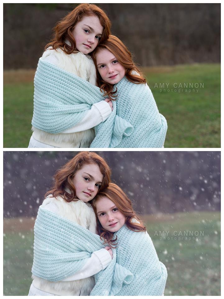 Acciones de invierno para Photoshop