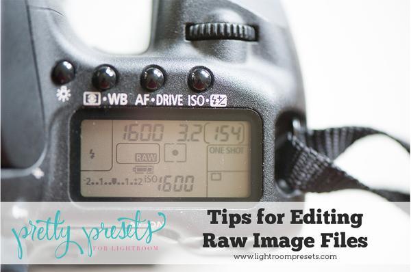 Consejos para editar imágenes RAW en Lightroom