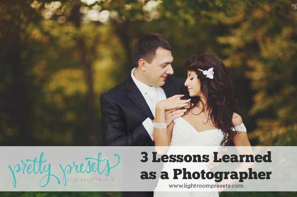 Tres errores y lecciones aprendidas como fotógrafo