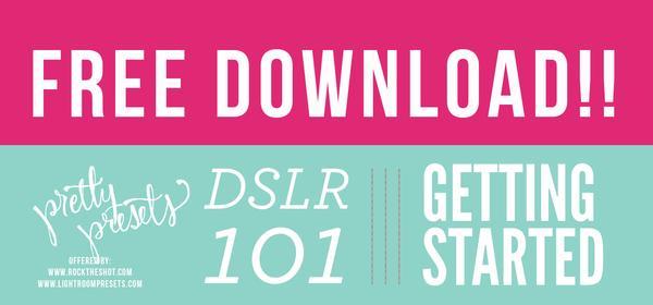 Descarga gratuita: Introducción a su DSLR 101