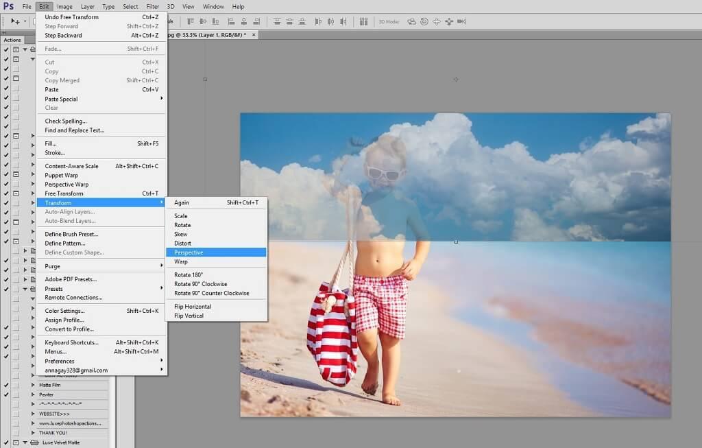 Cómo usar superposiciones de cielo en Photoshop