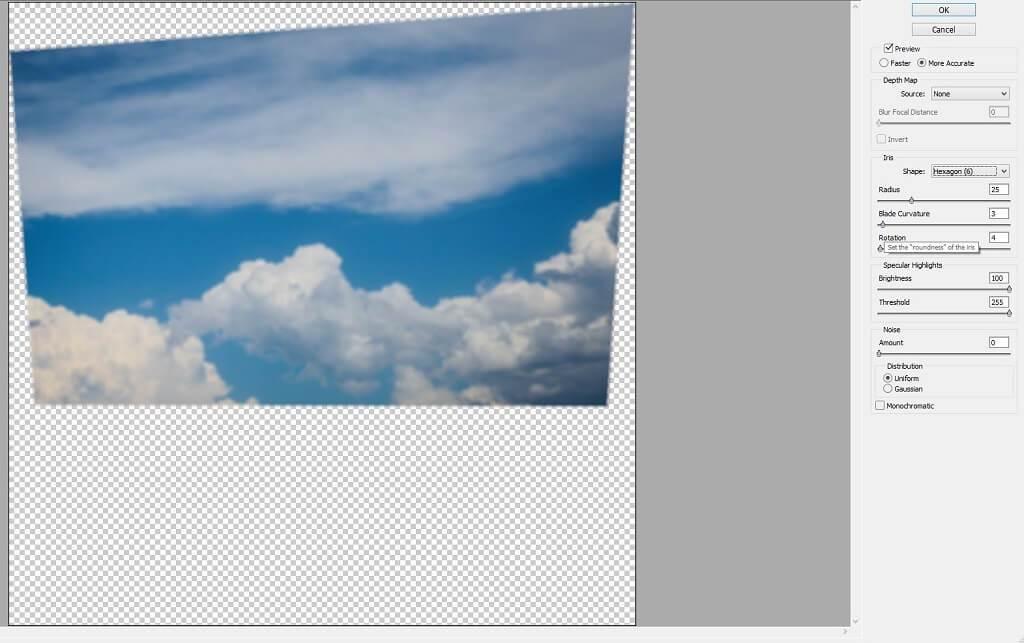 cómo mezclar superposiciones de cielo