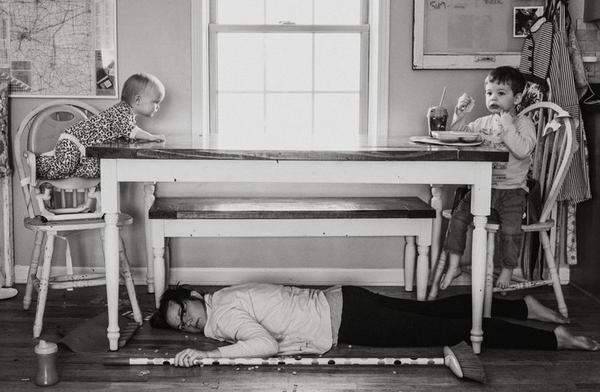 Looks Like I Feels Like: Proyecto de fotografía de maternidad