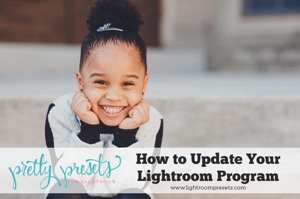Cómo actualizar su programa Lightroom