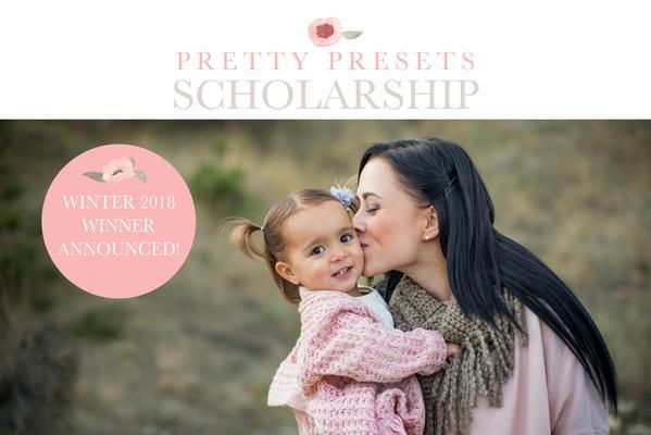 ¡Ganador de la beca Pretty Presets for Lightroom Winter 2017!