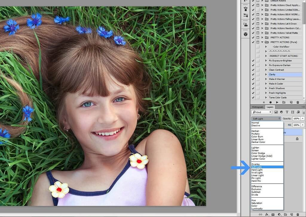 Fotografía con filtro de paso alto