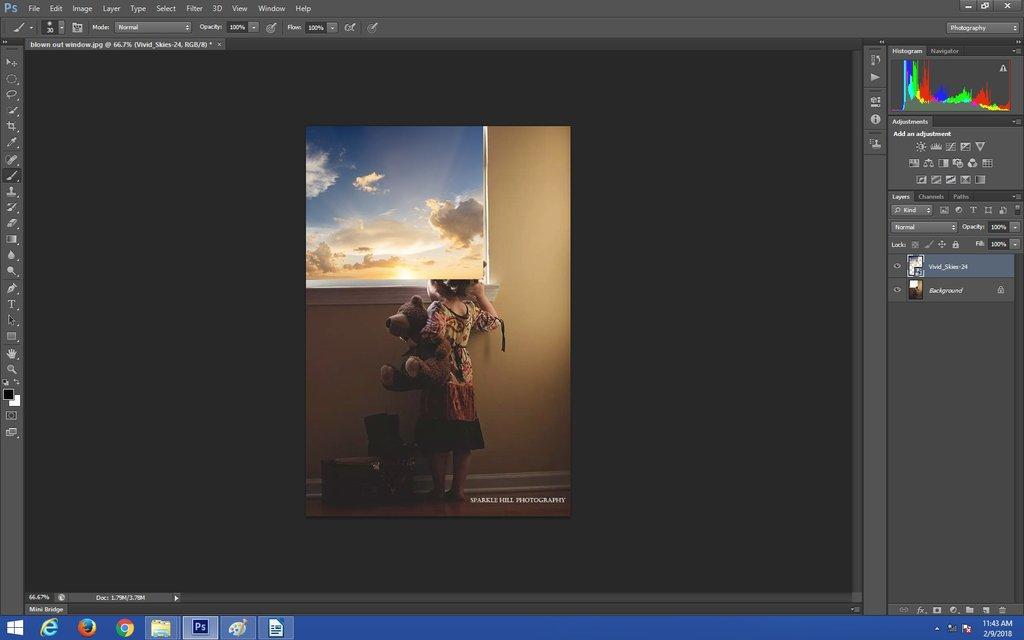 Crear una máscara de capa en Photoshop