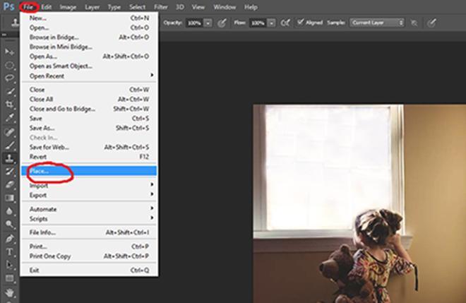 Cómo encontrar su superposición en Photoshop