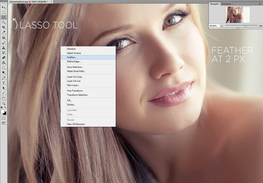 Guía para iluminar los ojos en Photoshop