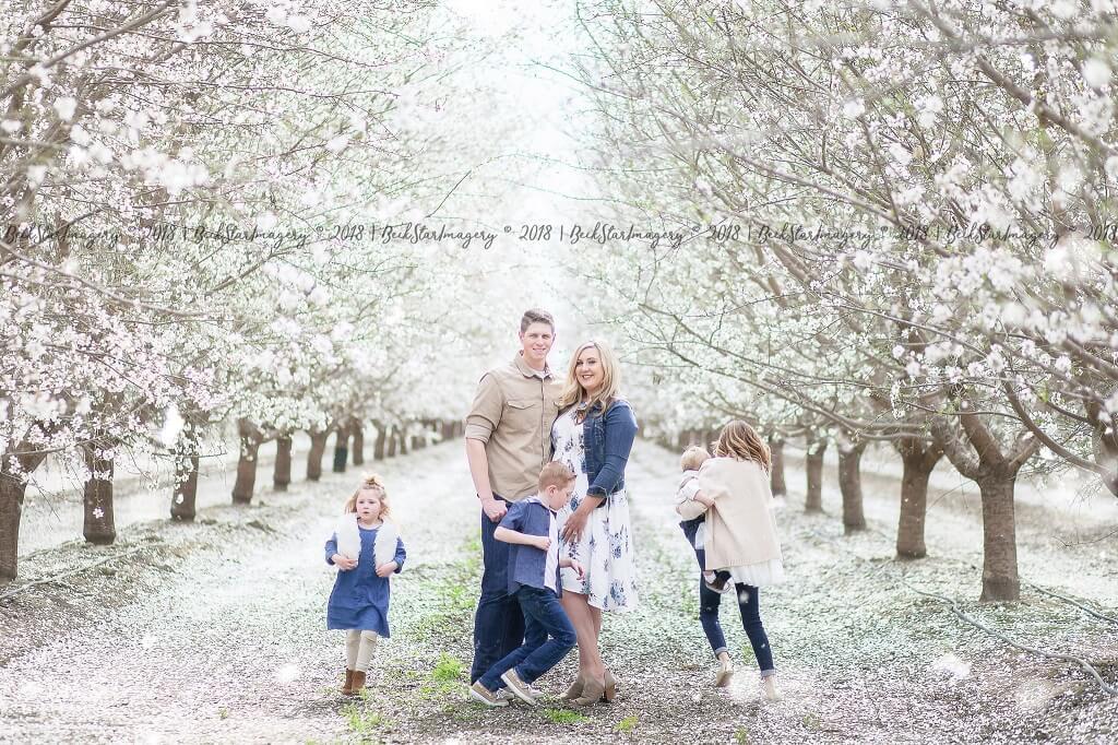 Uso de Nikon Live View para fotografiar a una familia