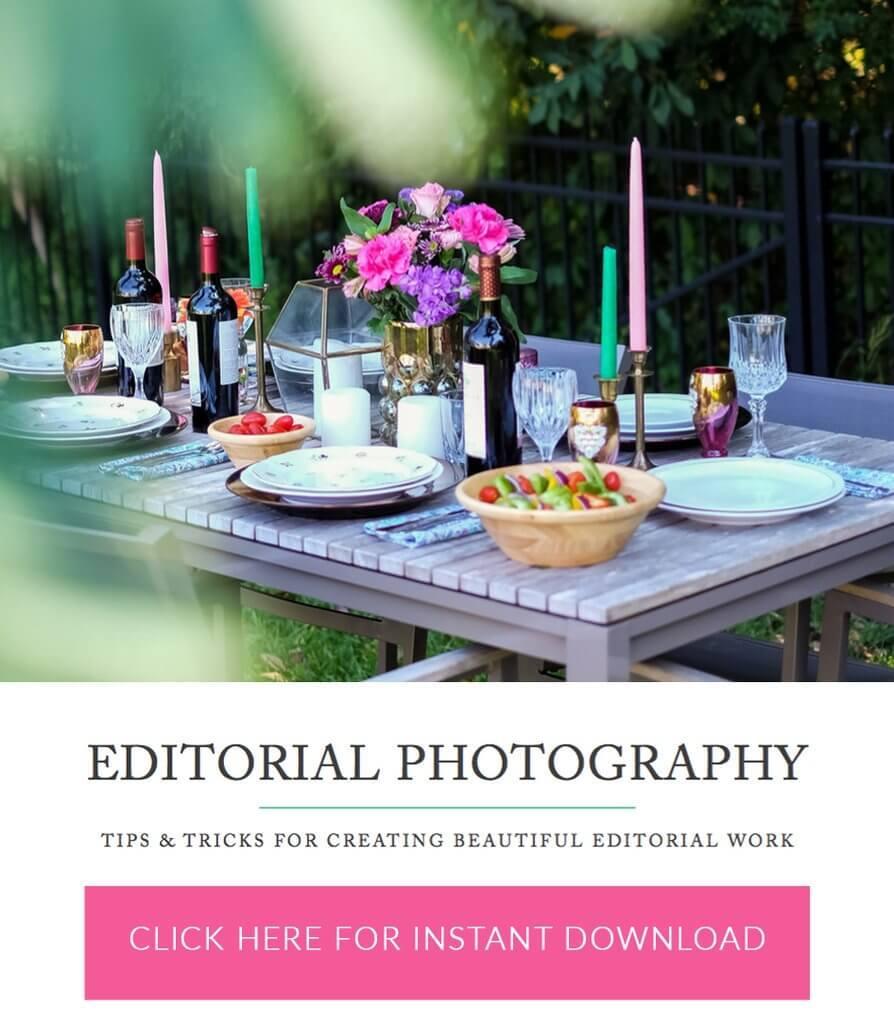 Definición de fotografía editorial