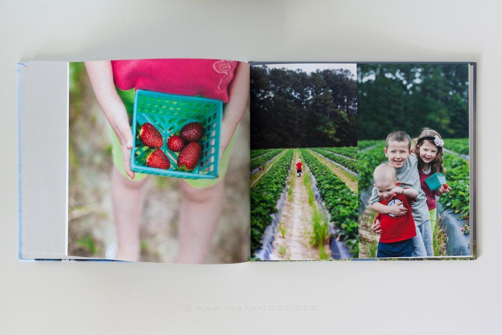 Libro de fotos de Blurb