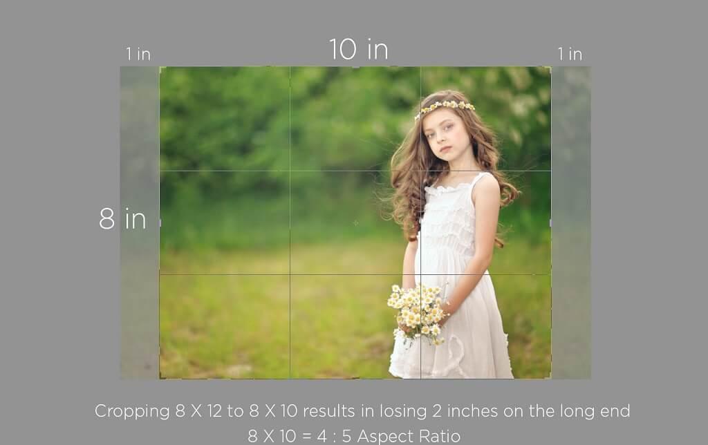 ¿Qué tan grande es la foto de 8 x 10?