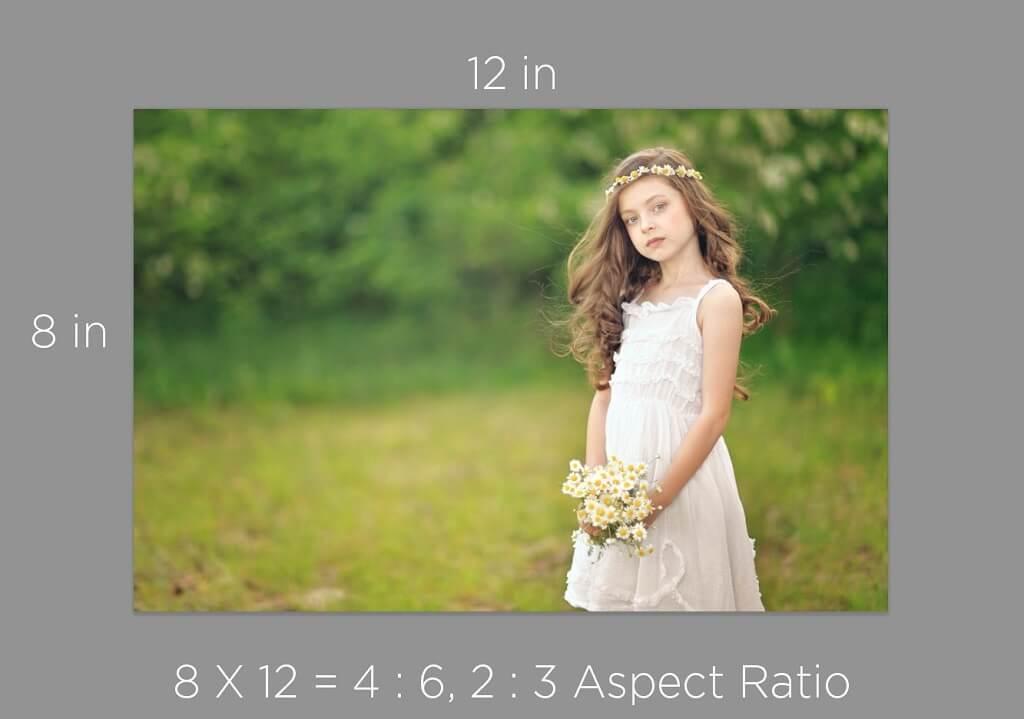 Comprender la relación de aspecto para la impresión de imágenes