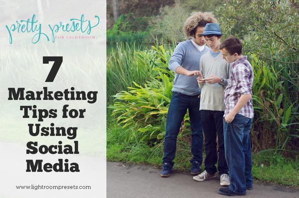 7 consejos de marketing fotográfico para usar las redes sociales