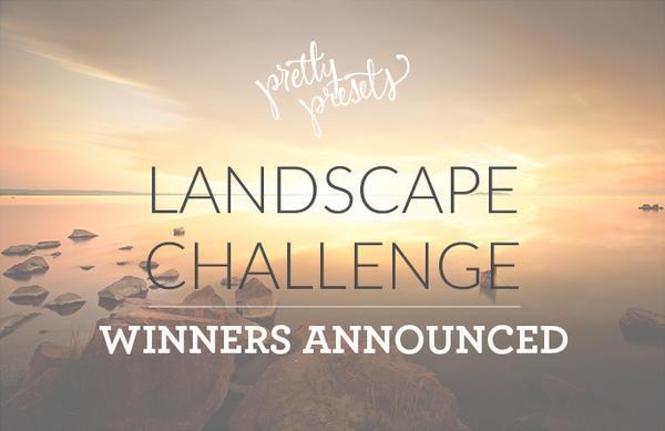 Ganadores del desafío de fotografía de paisajes: bonitos presets para Lightroom