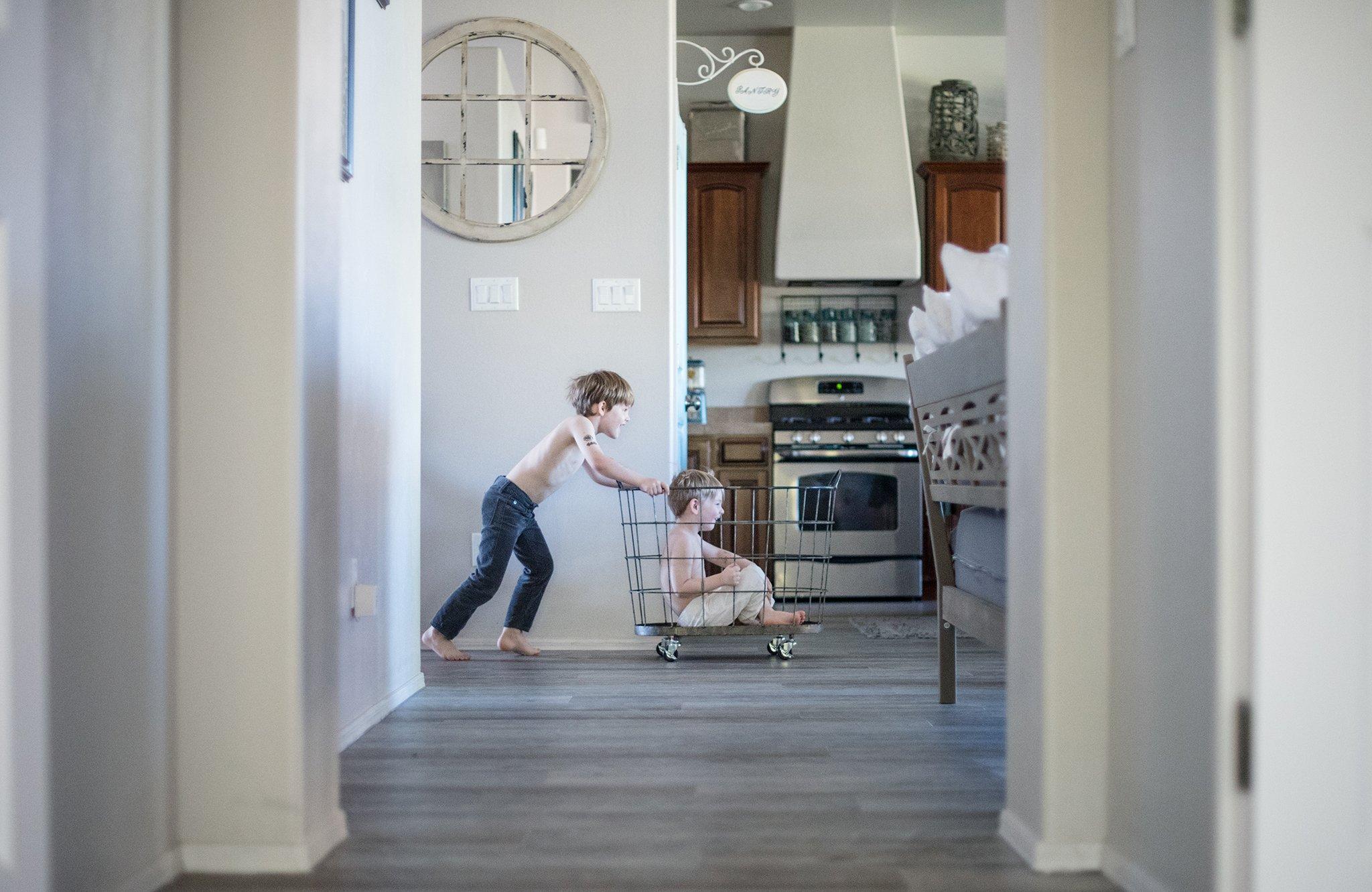Ajustes para fotografiar niños en movimiento