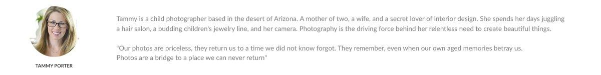 Tammy Porter Fotógrafo de niños de Arizona