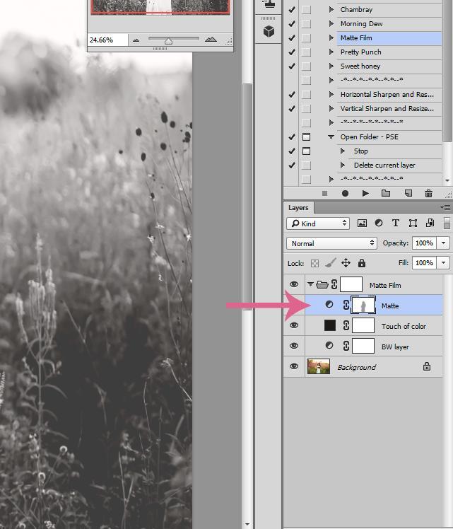 Personalización de efectos mate en Photoshop