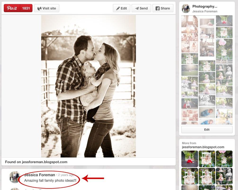 Uso de Pinterest para comercializar su negocio de fotografía