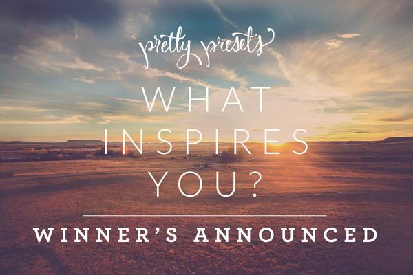 ¿Que te inspira?  ¡Se anuncian los ganadores del desafío de fotografía!
