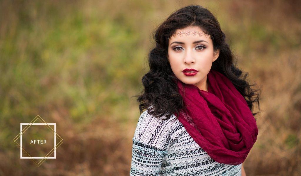 Acciones y pinceles de Photoshop de retoque y maquillaje: acciones bonitas