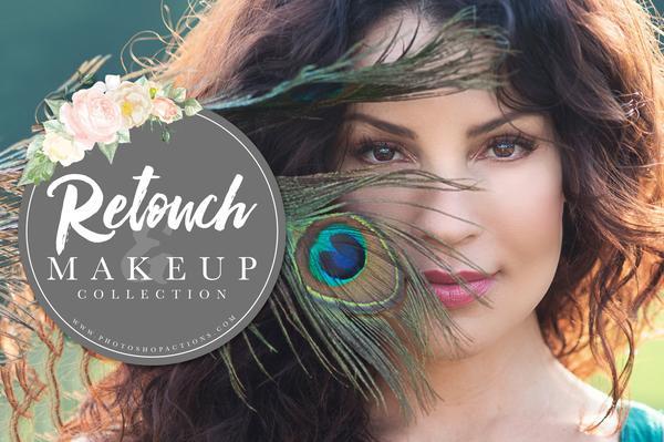 Colección Pretty Actions Retoque y Maquillaje (para Photoshop)