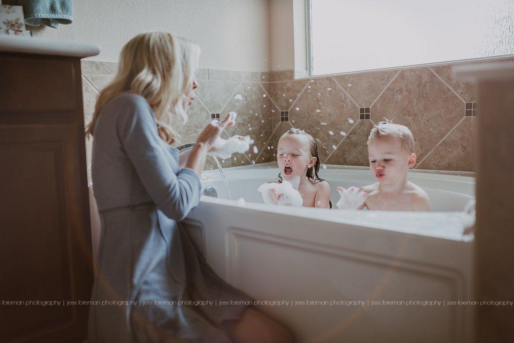 Cómo entrar en la foto con tus hijos