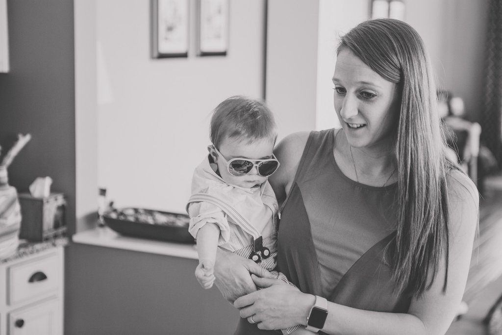 Mamá está en la foto: fotografiando la maternidad