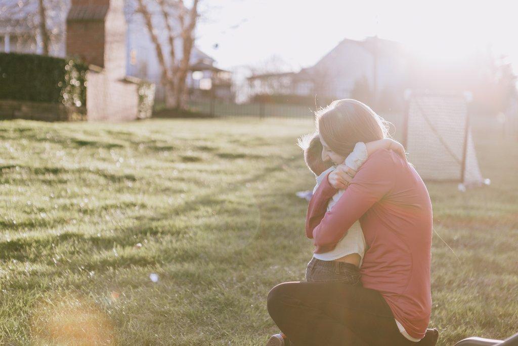 Fotografiar a mamás y niños