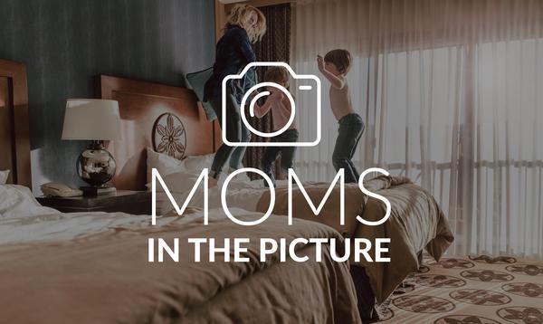 Mamá está en la foto: desafío fotográfico
