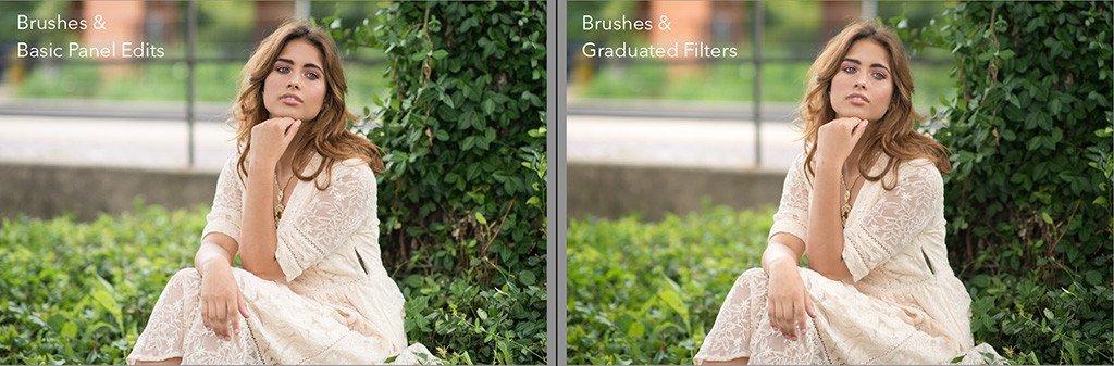 comparar las ediciones básicas del panel con los filtros graduados