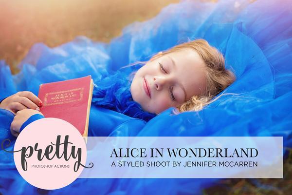 Sesión de fotos de Alicia en el país de las maravillas: bonitos presets para Lightroom