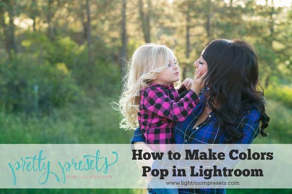 Pop de color simple en Lightroom: bonitos presets de Lightroom