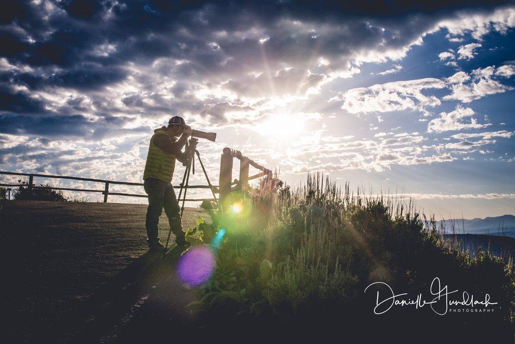 Uso de un trípode para fotografía de paisajes