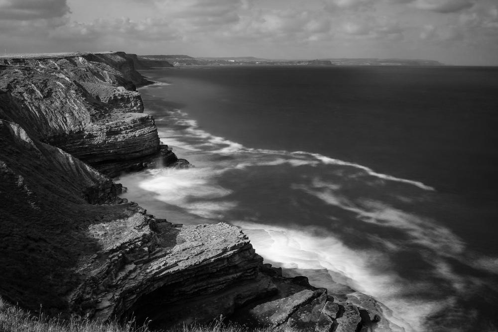 Receta para el éxito del paisaje en blanco y negro