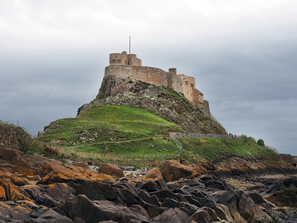 Castillo de Holy Island